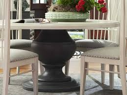 paula deen home bungalow bluff shingle 61 wide round dining table