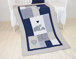 elephant baby blanket blue gray navy quilt crib bedding chevron elephant blanket grey safari nursery