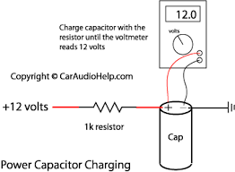car audio capacitor installation how to charge a car audio capacitor