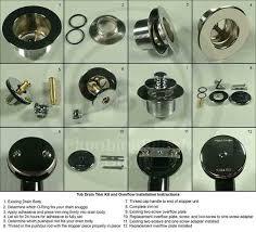 complete tub drain trim kits