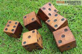 Wooden Yard Games Remodelaholic DIY Yard Dice Tutorial 12