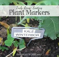 plant markers that last here s what you need