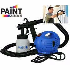 high quality paint zoom professional electric paint sprayer paint blue