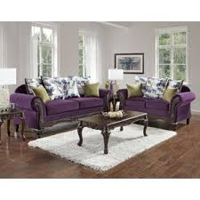 Purple Living Room Sets You ll Love