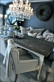 rustic elements furniture. Grey Rustic Dining Table Dark Walls Neutrals Cozy Furniture Elements  With Finish