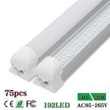 Led Shop Lights Us 683 0 Cnsunway 4 Ft Led Tube Lights T8 Integrated Double Row 48 1200mm 4ft Led Shop Light Bulb Fluorescent Cold White 28w Ac85 265v In Led