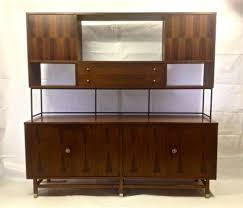 mid century modern stanley walnut sideboard server buffet mid century modern 72 stanley walnut sideboard server buffet credenza hutch bar danishmodern