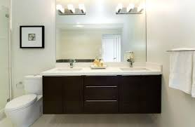 modern bathroom furniture cabinets. Modern Vanity Cabinet Bathroom With Small Pendant Lights And Wall Mirror Mounted Cabinets Furniture O