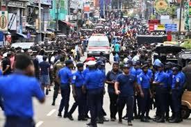 Blast in town east of Sri Lankan capital