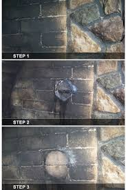 chimneyrx paint n l fireplace cleaner is a water based cleaning poultice that removes unsightly smoke soot creosote and dirt stains from