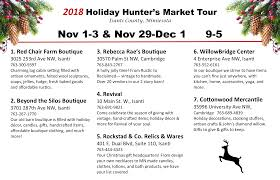 2018 holiday hunter s market tour
