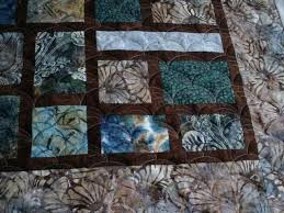 blue and brown quilt i try not to work on but today i will be putting blue and brown quilt