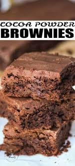 brownies with chocolately frosting