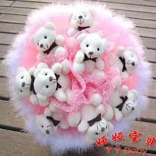 bunch of teddy bear 735x735 wallpaper