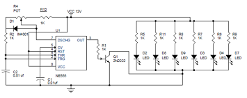 pwm led dimmer using ne555 circuit and block diagrams how to install a dimmer switch with 4 wires at Led Dimmer Wiring Diagram