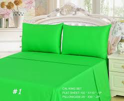 green yellow fitted sheet comforter set