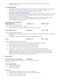 sql sample resume
