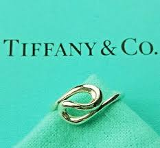 Genuine Tiffany Co Sterling Silver Elsa Peretti Open Wave
