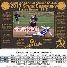 details about personalized sports softball picture frames custom engraved photos gifts