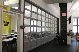 rollup garage doorAluminum Glass Garage Overhead Sectional Roller Doors in New