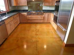 Cement Kitchen Floor Color To Cement Surfaces Houses Flooring Picture Ideas Blogule