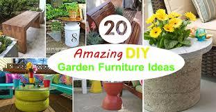 diy outdoor garden furniture ideas. 20 Amazing DIY Garden Furniture Ideas | Patio \u0026 Outdoor Balcony Web Diy