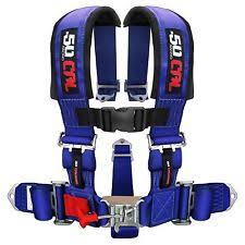 crawler harness blades 5 point safety harness 3 inch seat belt sand rail dune buggy rock crawler blue