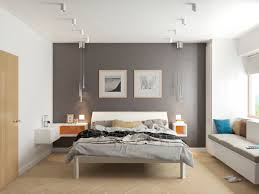 image of grey and white bedroom wall art
