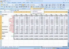 how to make a sheet in excel how to use excel for a budget coles thecolossus co