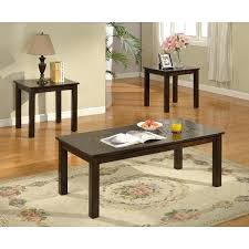 ceramic end tables top 3 piece coffee table set