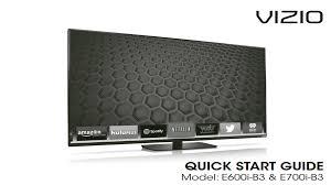 vizio tv manual. vizio e700i-b3 user guide tv manual