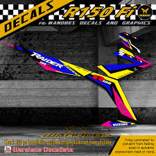 Thailand Sticker Design For Motorcycle Raider 150 Fi Decals Wandecsgp Thai