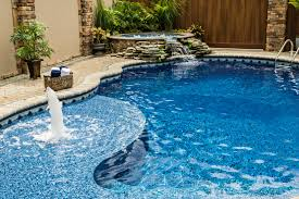 inground pools with waterfalls and hot tubs. Spillover Spas For Inground Pools With Waterfalls And Hot Tubs
