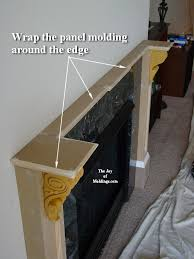 diy fireplace mantel easy to build