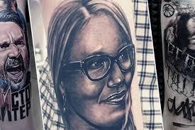 шнуров собчак и гуф как живут люди с татуировками лиц звезд