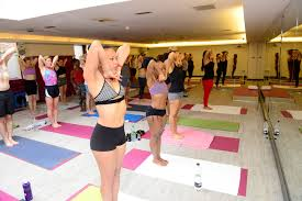 your first cl at hot yoga south