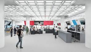 Cool Office Designs New With Foster And Partners RGA Creates An Office For The Connected Age