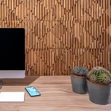 3d timber panels natural wood