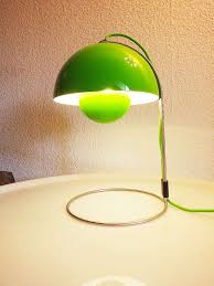 verner panton flower pot table lamp