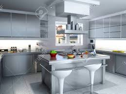 Industrial Kitchens sink & faucet stunning rendering modern industrial kitchen 8635 by guidejewelry.us
