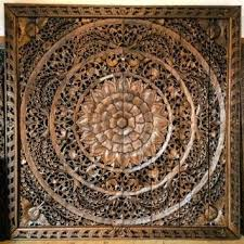 wooden carved wall hangings large carved wood panel teak wood wall hanging decorative lotus flower oriental white wooden carved wall art on asian carved wood wall art with wooden carved wall hangings large carved wood panel teak wood wall