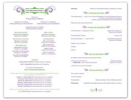 sample wedding ceremony program 25 ide terbaik wedding program samples di pinterest