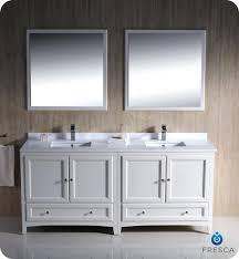 bathroom double sink vanity tops. vanities: 72 fresca oxford fvn20 3636aw traditional double sink bathroom vanity antique white tops