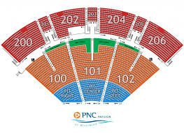 The Incredible Along With Interesting Pnc Pavilion Seating