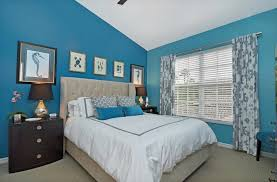 blue bedroom ideas. Interesting Blue Sky Blue Bedroom With Carpet Flooring And Shed Ceiling Along Wide  Window Nice Curtain To Blue Bedroom Ideas L