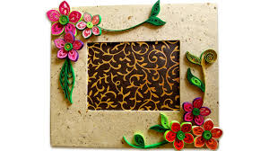 How To Make Beautiful Quilling Photo Frame   Easy Craft Ideas ...