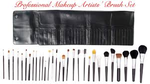 professional studio artists makeup brush set