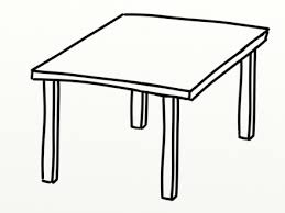 table clipart black and white. table clipart black and white e