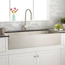 stainless steel farmhouse sink. Unique Sink Stainless Steel Is A Lowmaintenance Material So Cleaning The Sink  Requires Simple Wipedown With Nonabrasive Cleaner934506Signature Hardware Inside Steel Farmhouse Sink