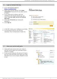 Outlook Light Version User Manual Vu Mail Webmail Outlook Web App Februari Pdf